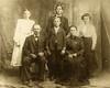 Charles Crossman and Emily Audella Cady Crossman<br /> <br /> Eleanor (ago 14), Ebbie (age 24), Flora (age 16), Walter (age 12)