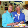 Fran Taylor and Sara Swain go way back to the old CNB days.   Sara went on the a nice career at the Colorado State Bank.