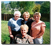 Carolyn Stouffer, Edna Casman (Diane's cousins) with Elaine.