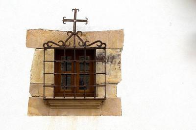 Un detalle de una ventana