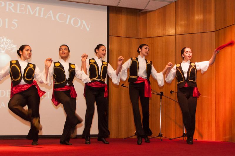 Presentación Baile en IRA