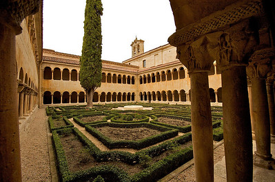 Vista general del claustro