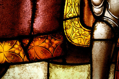 Alcázar de Segovia, detalle de los ventanales.