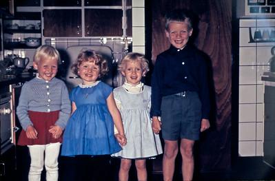 Rene hænder og tænder. Mersi, Marianne, Mette og Morten.