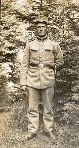 Jens Renberg Hansen: Indkaldt til sikringsstyrken under 1. verdenskrig.