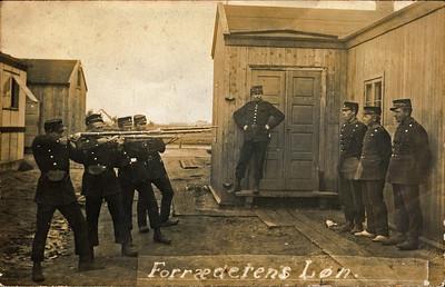 Forræderens løn. Jens Renberg Hansens soldaterkammerater under 1. verdenskrig.