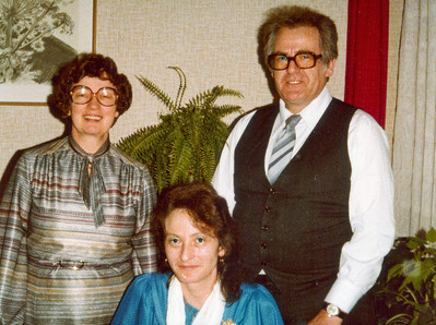Fra venstre Grethe, Rie og Ole.