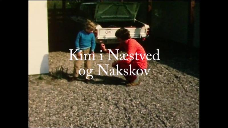 Kim og Ejnar på besøg i Fjordvænget og Nakskov. Forået 1971..