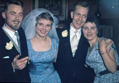 Kurt Baumgarten, Lise, Kurts bror og Laura.