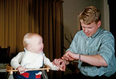 Dr. Hasse med Morten.