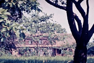 Haven i Kornerup præstegård.