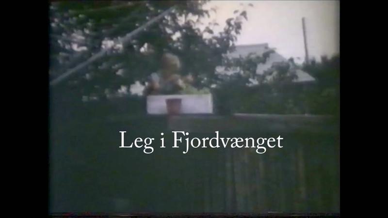 Leg i Fjordvænget.