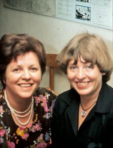 Laura Turner og Inger Stilling.