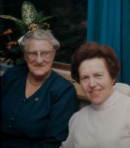 Elisabeth og Gitte Rengber.