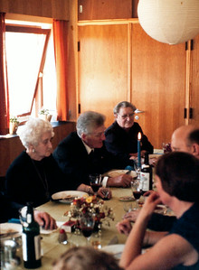 Tante Anna, Jens renberg og Elisabeth.