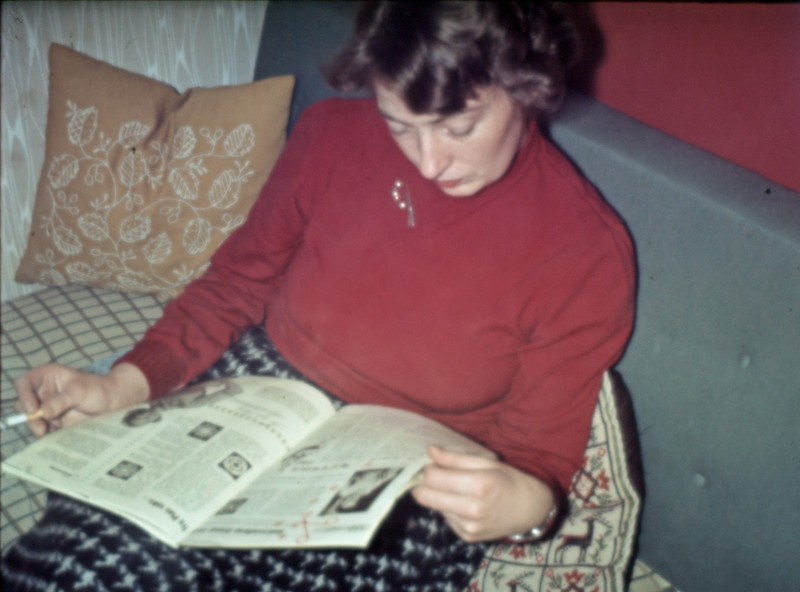 Grethe Læser.
