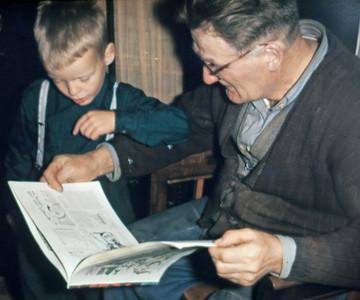 Morten og jens Renberg læse.