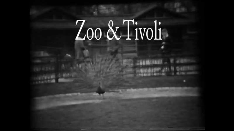 Zoo & Tivoli smalfilm. Zoo er fra Påsken 1962.