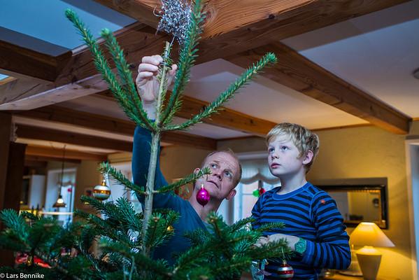 2015 Juletræ og pakkespil