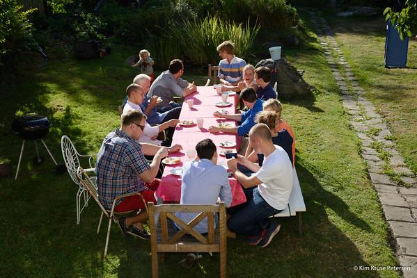 Fætter-kusine fest  31-aug-2013