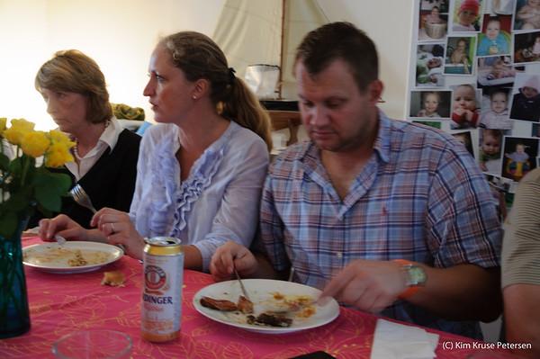 Fætter-kusine fest  27-aug-2011