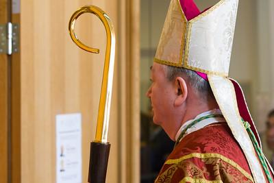 Bischof Bernt war aus Oslo angereist.