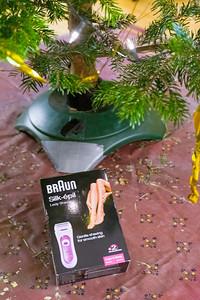Bernds Weihnachtsgeschenk, damit er noch schneller Radfahren kann. War natürlich ein Scherz. In der Packung waren Kopfhöhrer.