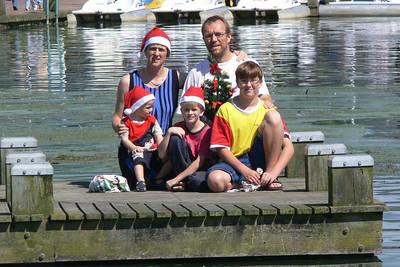 Weihnachten 2005 in Neuseeland.