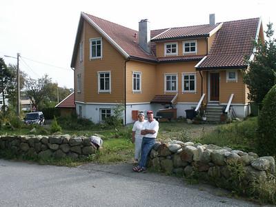 Unser Haus in Stavanger.