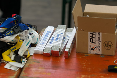 Bernd wollte eigentlich einen Zollstock gewinnen. Für den Umbau in Stavanger. Am Ende hatte er sogar zwei!