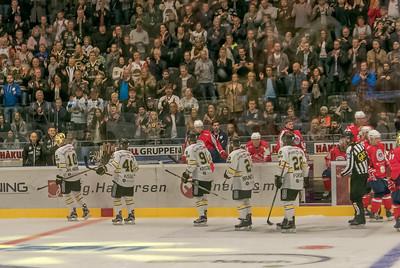 Die Oilers haben 6:2 gewonnen und die Stimmung war natürlich toll!