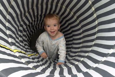 Im Tunnel.