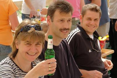 Gisela und Kokul, Freunde aus Clausthal, die inzwischen seid vielen Jahren in Syke leben.