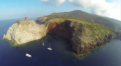 Phantom auf Segelschiff um Korsika mit Jonas
