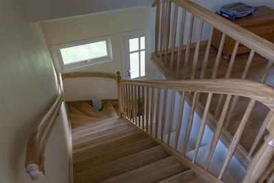 Den Treppenlift können wir später einbauen.