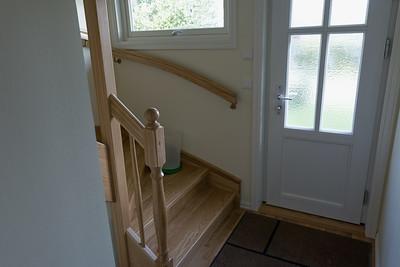 Hier war früher die Gästetoilette. Die musste weichen, da wir Platz für die Treppe brauchten.