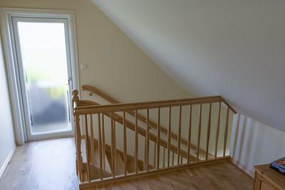 Die nächste grosse Neuerung ist die Treppe. Die alte war viel zu steil.