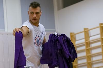 Alle Teilnehmer des Batizado bekamen ein T-Shirt vom Capoeira Lehrer n Stavanger in Stavanger: Cururû.