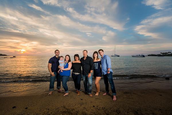 The Raymond family