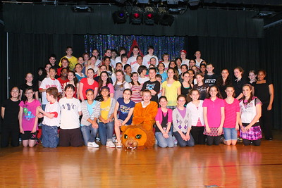 After Play Thank Yous and Cast Pictures