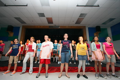 Wednesday Rehearsal of High School Musical