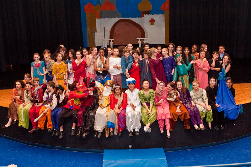 Aladdin performed by Lanier Middle School