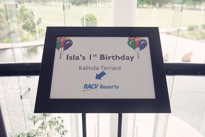 Isla's 1st Birthday 001