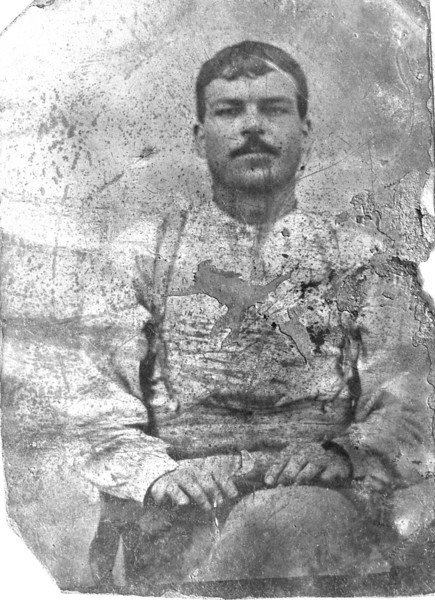 "Augustus ""Gus"" Albritton, bc 1867. (Courtesy of Betty (Hunter) Zeigler, granddaughter of Gus Albritton)"