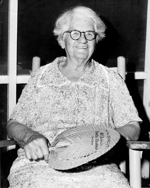 "Betty A. (Peters) Albritton, wife of Augustus ""Gus"" Albritton, and daughter of William L. and Caroline ""Carrie"" Melvina (Walker) Peters. (Courtesy of Betty (Hunter) Zeigler)"