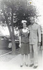 """Grace Anderson and William R. Rigell<br />  On September 13, 1943, Grace Grimes Anderson married William Richard Rigell, Jr., at the First Methodist Church in El Paso, Texas. William Richard (Bill) Rigell, Jr., son of Dr. William Richard Rigell, Sr. and Ethel Gillespie, was born on February 29, 1920, in Colbert County, Alabama. An announcement of the wedding appeared in the September 30, 1943, issue of The Nashville Herald:<br /> Rigell-Anderson<br /> """"On Monday, September 13, Miss Grace G. Anderson, a corporal in the WAC Detachment at Fort Bliss, Tex., was married to 1st Lieutenant William R. Rigell, Jr., formerly of the 395th AAA Automatic Weapons Battalion, at a quiet ceremony in El Paso's First Methodist  Church.<br /> The Reverend C. Raymond Gray officiated at the late afternoon wedding, which was attended by a few close friends of the bridal couple. Staff Sergeant Edith A. Ayers, of Orlando, Fla., and The Fort Bliss WAC Detachment, was maid of honor for Miss Anderson, and Captain Robert C. Neale, 395th AAA Automatic Weapons Battalion, acted as best man for Lieutenant Rigell. <br /> Following the ceremony, there was a wedding supper at the Officers' Club in Downtown El Paso, and an evenng reception at the Fort Bllss home of Captain and Mrs. George Fain. <br /> Mrs. Rigell is from Nashville, Georgia, where her grandparents, Mr. and Mrs. J. H. Anderson and her father, J. H. Anderson, Jr. are living at the present time. <br /> Lieutenant Rigell is the son of Dr. and Mrs. William R.  Rigell, who reside in Johnson City, Tenn."""""""