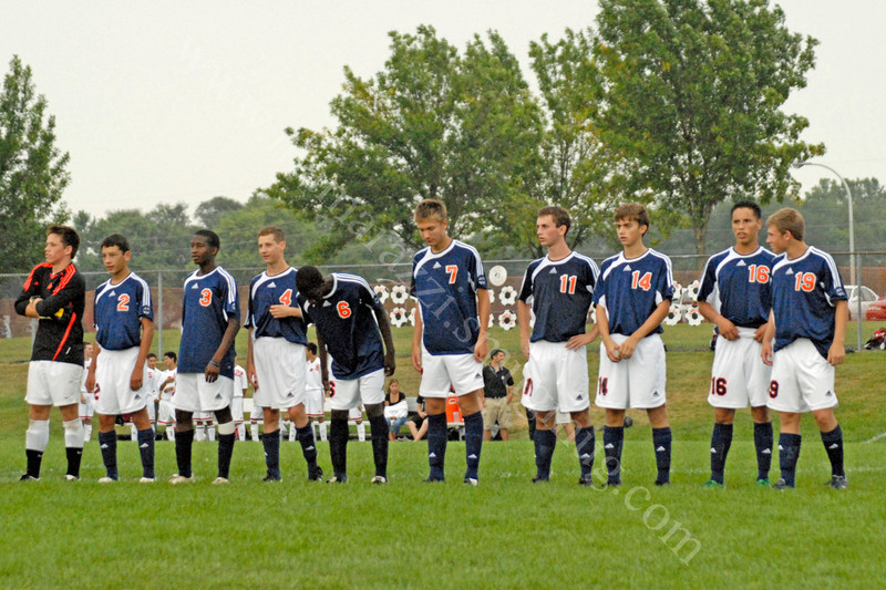 September 4, 2008<br /> Varsity soccer Match at Logansport High School<br /> Harrison Raiders vs Logansport Berries