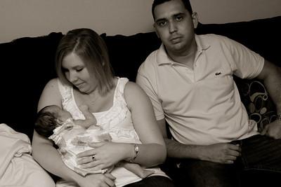 Melanie and Parents