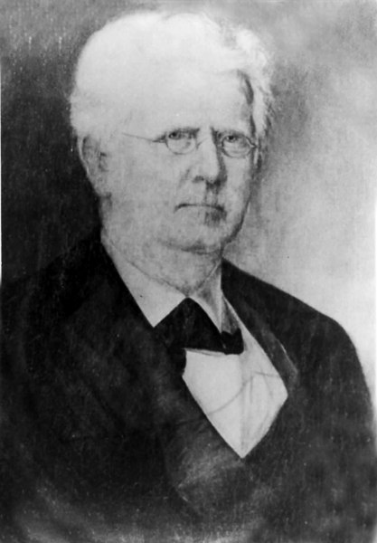 Henry S. Banks, was a wealthy Atlantan who purchased William Lastinger's mill property in 1862<br /> Photo courtesy of Marie Mitchell and the Troup County Archives