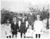 Children of Elijah and Eliza Richardson Brogdon, left to right: Janie, Bill, Alioce, Julius (top), John D. (bottom) and Gladys. Photo about 1910. Photo courtesy of Clarice Roberts.